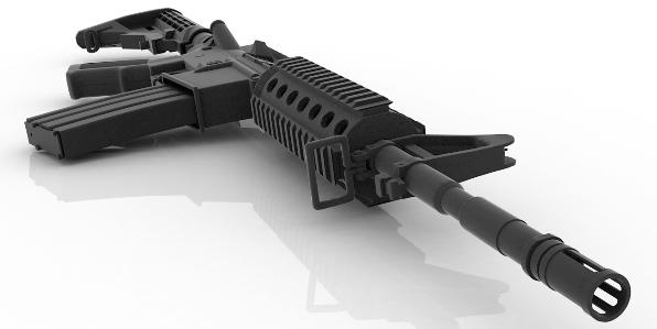 AR 15 - not an assault rifle