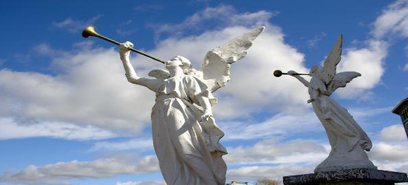 angelic trumpets