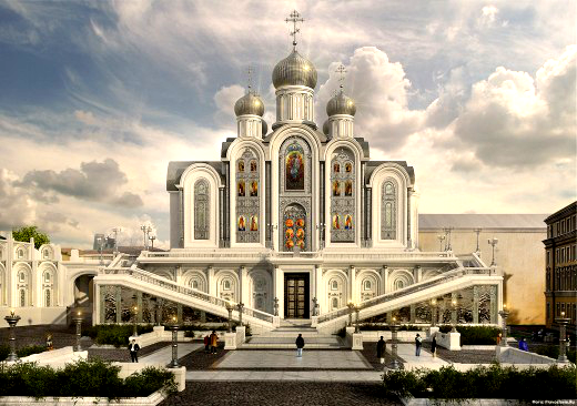 Proposed Church of the 20th Century Martyrs in Russia