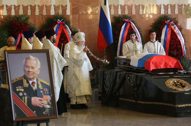 Funeral of Mikhail Kalashnikov