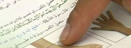 The Arabic School Textbooks Show Children how to chop off hands and feet under Sharia law