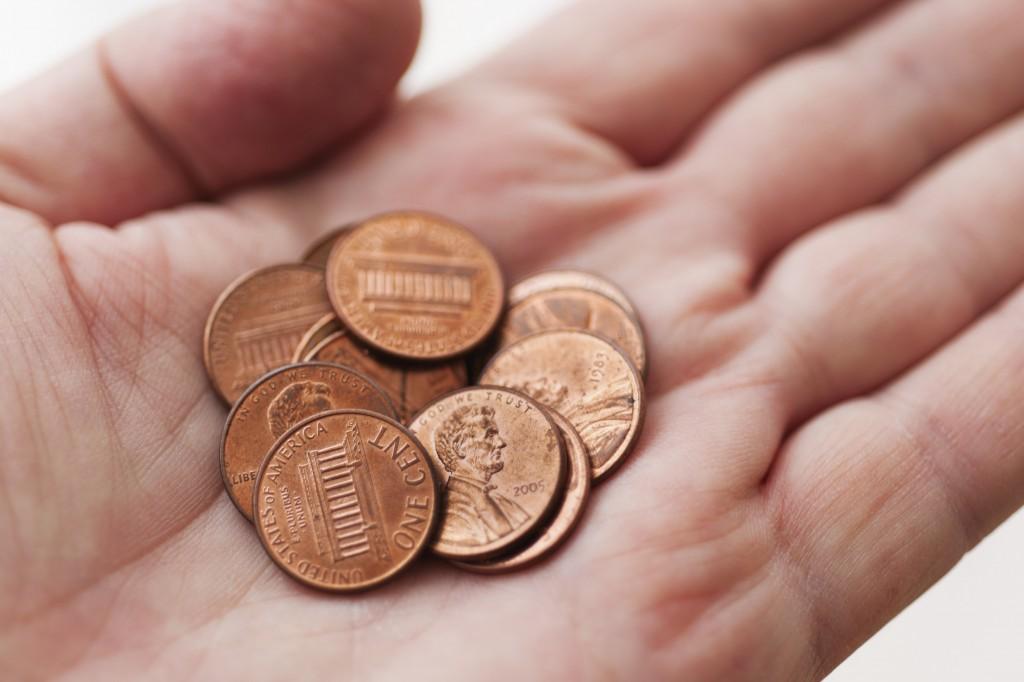 001 pennies