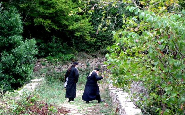monks on athos