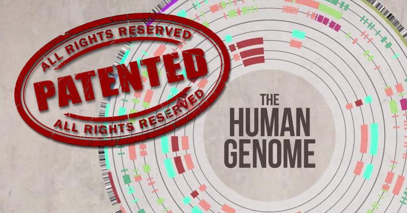 human genome patented