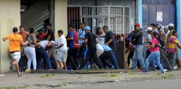 venezuela food riots